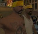 Vagos gang members (Running Dog)