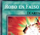 Robo en Falso