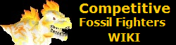 Competitive fossil fighters Wiki