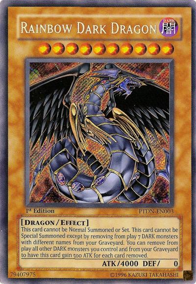 card erratarainbow dark dragon  yugioh  it's time to