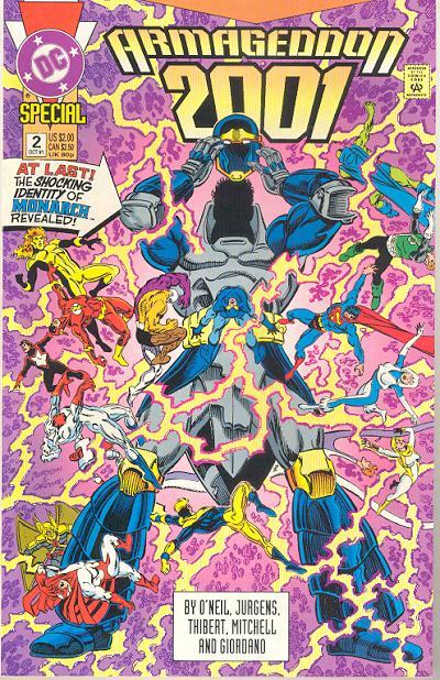 Hawk Monarch - Top 5 Comic Book Heel Turns