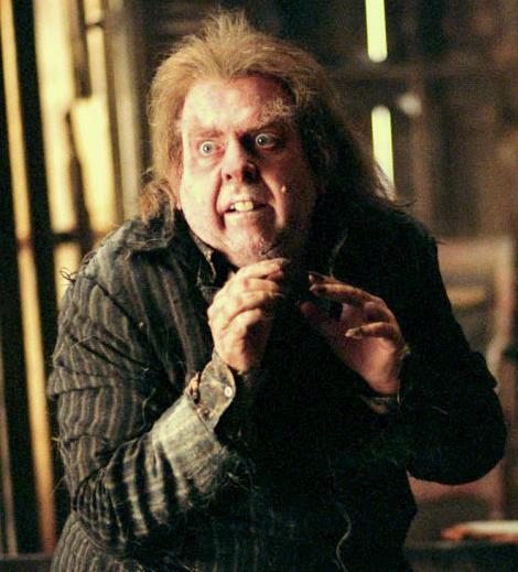 Peter Pettigrew, the man who delivered the Potters to Voldemort. What a poltroon!