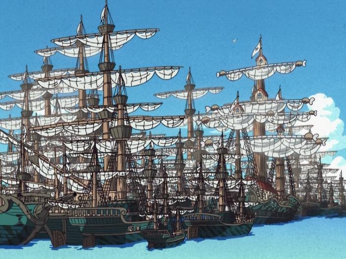 Marine Ships - The One Piece Wiki - Manga, Anime, Pirates, Marines, Treasure, Devil Fruits, and more