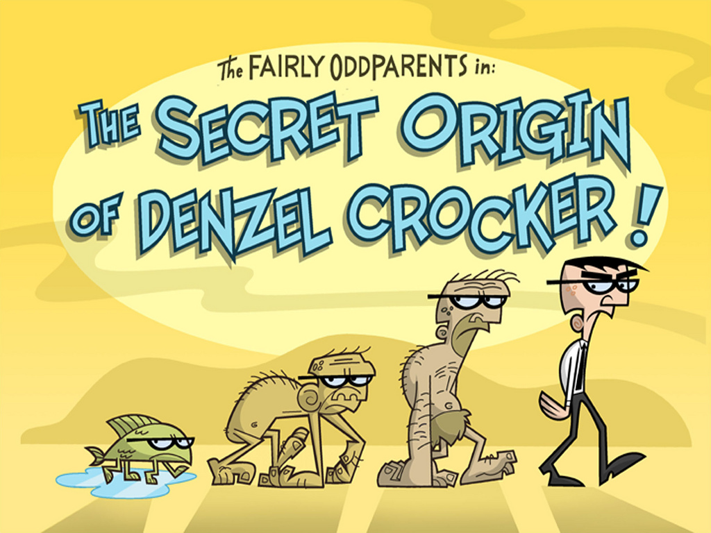 The Secret Origin of Denzel Crocker! - Fairly Odd Parents ...