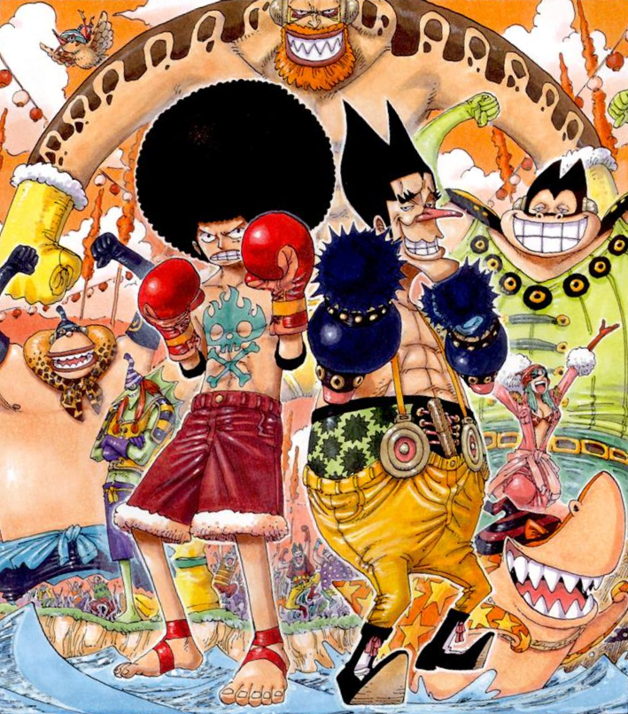 Long Ring Long Land Arc - The One Piece Wiki - Manga ...