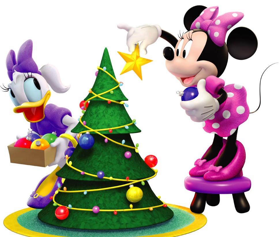 Image - MMCH Minnie and Daisy Christmas.jpg - DisneyWiki