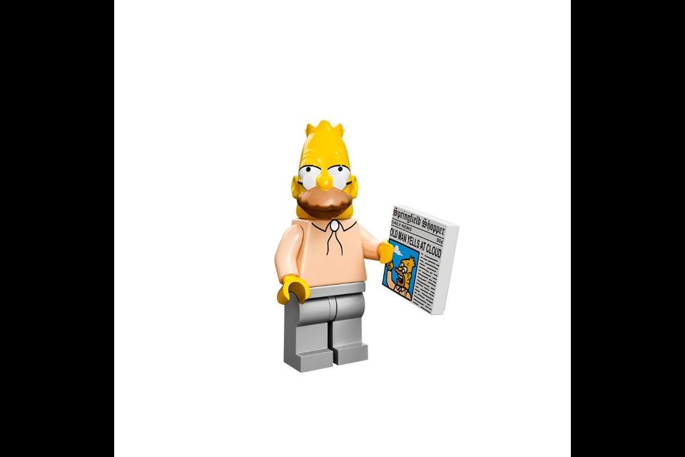 【最新情報】レゴ ザ・シンプソンズ(71005)ミニフィギュアシリーズの画像公開