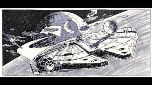 Art Book Review Star Wars Storyboards The Original Trilogy Rotoscopers