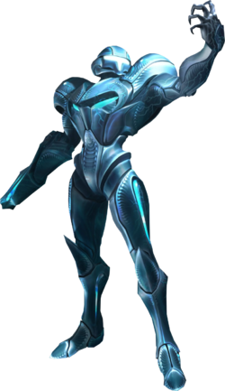 Dark Samus artwork