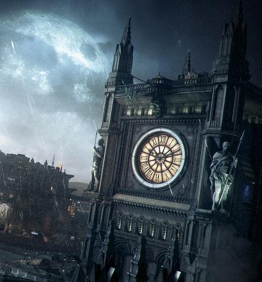 Far From Home ~ Khalid / Dr Fate Batman-arkham-knight-clock-tower